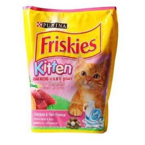 purina friskies kitten chicken amp fish flavour 450 g